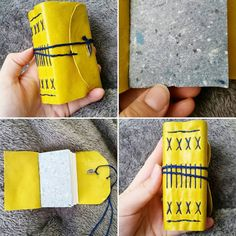 Mustard Yellow Handmade Long Stitch Journal by AshandElmBooks Bookbinding, Mustard Yellow, Journals, Etsy Shop, Stitch, Unique Jewelry, Handmade Gifts, Check, Vintage