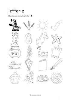 letter a booklet letter z pattern use the printable outline for crafts 6066
