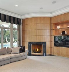 """36"""" IHP DRT4036 Superior Custom Series Direct Vent Electronic Ignition Fireplace with Ceramic Glass DVF-36 