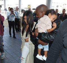 Nori West saca a flote el lado más tierno de su padre, el rapero Kanye West