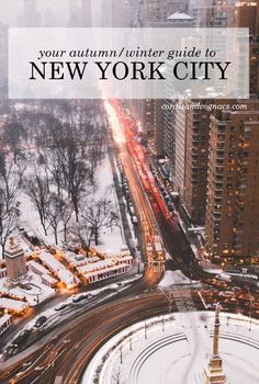 Things to do in NYC in the winter