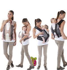 Porte bébé physiologique Babymoov http://produits-puericulture.babymoov.fr/porte-bebe-physiologique.html