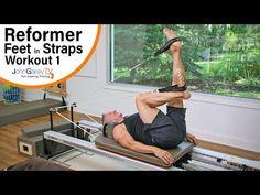 Beginner Pilates Reformer Feet in Straps Workout – Pilates 2020 Pilates Video, Pilates Workout Youtube, Hot Pilates, Cardio Pilates, Pilates At Home, Pilates Body, Pilates Reformer Exercises, Beginner Pilates, Pilates For Beginners