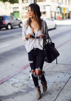 Sincerely Jules / Off Duty Downtown. // #Fashion, #FashionBlog, #FashionBlogger…