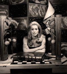 Catherine Deneuve; photo by Man Ray, 1968