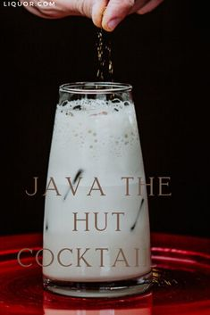 Horchata vodka and cold-brew coffee are the two main ingredients in this sweet and slightly caffeinated drink. Java the Hutt is the perfect cocktail to drink before catching a late night premiere of the new Star Wars movie.