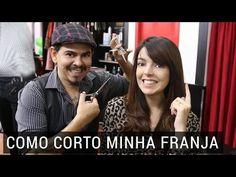 Como corto minha franja | Lia Camargo e Circus Hair - YouTube