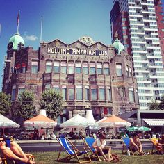 Hotel New York #summer #Rotterdam #terrace Photo: @Vereeen