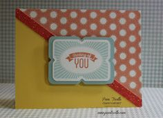 Pam's Crafty Creations: Framed - Stamp of the Month Blog Hop #CTMHZoe #Artistry - link to #onesheetwonder