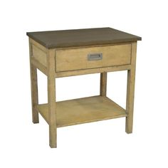 32128 One Drawer Nightstand with Shelf