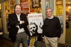 "RIck Bragg (here with Garden District Book's Britton Trice) at the booksigning in New Orleans for Bragg's ""Jerry Lee Lewis: In His Own Words."" VIA nola.com/society #nolasocialscene"