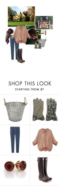 """""""Untitled #2121"""" by duchessq ❤ liked on Polyvore featuring Threshold, Chicnova Fashion, Topshop, Hunter and Marc by Marc Jacobs"""
