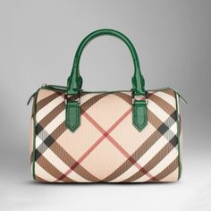 Some day I will have a Burberry purse :( this is my dream purse