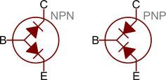 electronic gadgets Transistors as two diodes Electronic Circuit Projects, Electronic Parts, Electronic Engineering, Electrical Engineering, Arduino, Cool Electronics, Electronics Projects, Electrical Circuit Diagram, Engineering Science
