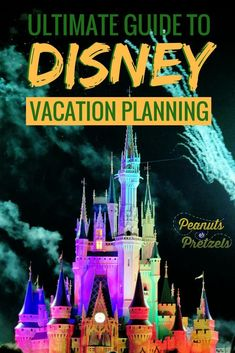 Your Ultimate Vacation Planning Resource for your Disney Vacation. Information, tips, planning tools and more for Disney Parks around the world. Planning a Disney vacation can be overwhelming, so after visiting Disney Parks all over the world, we've put together this handy guide to Disney Vacation Planning, click through to read more. | Peanuts or Pretzels Travel