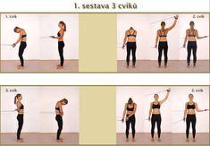 SM Systém - cvičení vadné páteře; DVD 11 základních cviků | Eureko Daegu, Spiral, Fitness, Health Care, Core, Exercise, How To Plan, Text Posts, Ejercicio
