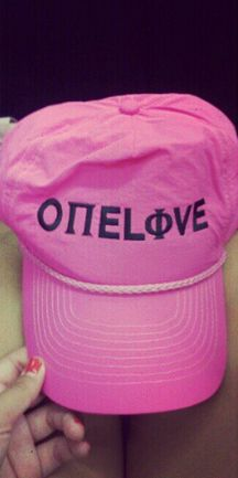 Pi Phi One Love hat #piphi #pibetaphi