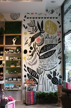 Leah Duncan Wall Murals The Body Shop