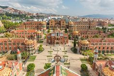 Reinterpretation of modernist ornament for formal definition – Santa Creu i Santa Pau HOSPITAL GARDENS #spain #landscape #architecture #barcelona #reinterpretation #modern #contemporary