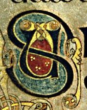 book of kells letter s - Google Search