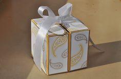 DIY #giftbox that opens sideways