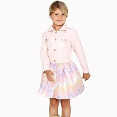 "Oil & Water ""Paints the Sky"" with their gorgeous Cloudburst Coat. Pink patent top with a patterned bottom. Spring Shower, Oil Water, Rain Wear, Be Perfect, Raincoat, Tulle, Ballet Skirt, Pairs, Disney Princess"