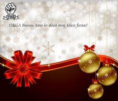 YIKGA BsAS les desea Felices Fiestas