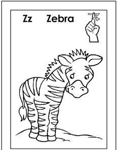 29 Best ASL/American sign language alphabet coloring