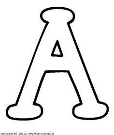 26 Best Alphabet Capital Coloring Pages for Kids - Updated 2018 Large Printable Letters, Big Letters, Letters And Numbers, Large Letter Stencils, A Letter, Alphabet Coloring Pages, Free Printable Coloring Pages, Coloring Pages For Kids, Stencil Lettering