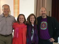 We had a wonderful experience with Jonathan & Andy Goldman at the Lotus in Yogaville, Virginia.