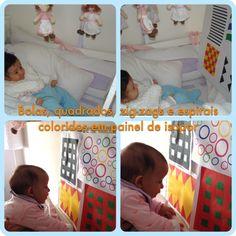 Atividade para estimular a visão - para bebês de 0 a 6 meses