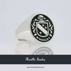 Whooley family crest jewelry