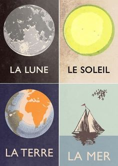 Moon/Sun/Earth/Sea