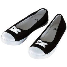 Ladies Faith Black Canvas Flat Plimsoles Ballet Pumps Shoes UK Sizes... ($17) ❤ liked on Polyvore featuring shoes, flats, sapatos, canvas shoes, ballet shoes, ballet flats, ballerina flat shoes and flat shoes