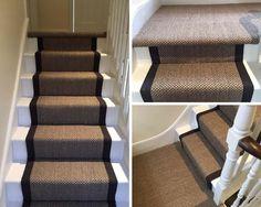 Sisal beige-blau | Treppe | Pinterest | Treppe
