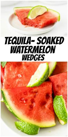 Tequila Soaked Watermelon Wedges recipe from RecipeGirl.com #tequila #soaked #watermelon #wedges #summer #party #recipe #RecipeGirl Easy Holiday Recipes, Fun Easy Recipes, Popular Recipes, Healthy Recipes, Summer Recipes, Delicious Recipes, Tequila Soaked Watermelon, Beef Recipes, Cooking Recipes