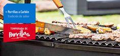 El sabor ahumado de la carne asada con el calor del carbón es para muchos irrenunciable, de ahí que esta parrilla sea una de las preferidas por los amantes del asado.