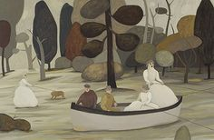 Camilla Engman - a canoe picture similar in green would be great.