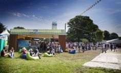 Installation for Alpro's product launch targetting commuter hotspots and summer festivals