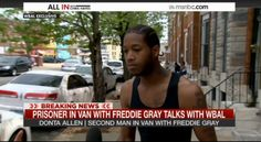 "Police at Station with #FreddieGray's Limp Body: ""We gave him a run for his money"""