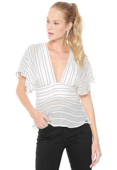 ef84f65ee 18 melhores imagens da pasta Blusas colcci   Dress patterns ...