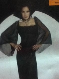 Womens Large 12/14  Sexy Gothic Vampire,dracula,twilight,witch Costume Dress!!! #InCharacter #CompleteCostume
