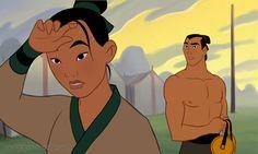 Mulan and Shang by Cacodaemonia on deviantART