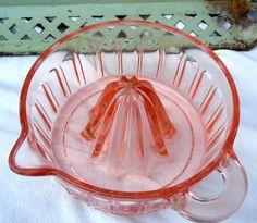 Vintage Glass Juicer Frm bd: Remember When...