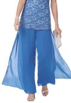 Plus Size Fabulous And Flowy Georgette Pants $9.99