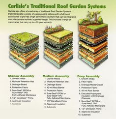 roof top garden structure
