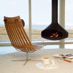 Scandia Senior Easy Chair by Fjordfiesta Furniture, Home Fireplace, Scandinavian Furniture, Chair, Home Decor, Scandinavian Design, Interior Design News, Norwegian Furniture, Furniture Design