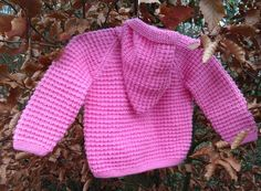 Little girl's / toddler's / child's hand knitted by bebbyjumpers, £26.00