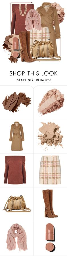 """Work Outfit"" by stars-5 ❤ liked on Polyvore featuring Bobbi Brown Cosmetics, Vince, Gestuz, MARC CAIN, Diane Von Furstenberg, Gianvito Rossi, Mint Velvet and Chanel"