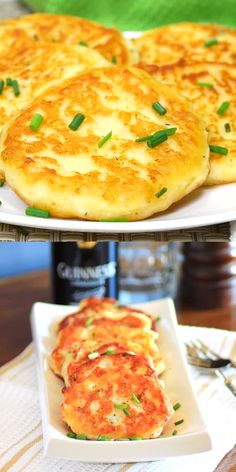 Irish Potato Pancakes are crisp on the outside and creamy on the inside. Perfect with so many meals! Irish Potato Pancakes are crisp on the outside and creamy on the inside. Perfect with so many meals! Irish Recipes, Veg Recipes, Baby Food Recipes, Indian Food Recipes, Vegetarian Recipes, Dinner Recipes, Cooking Recipes, Potato Pancake Recipes, Mashed Potato Pancakes